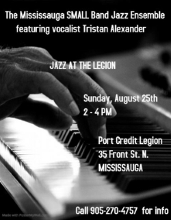 Jazz at the Legion - August 25th