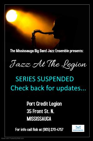 Jazz At The Legion Notice