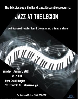 Jazz At The Legion - January 26