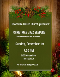 Christmas Jazz Vespers