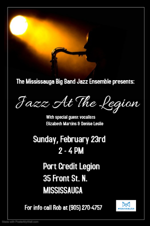 Jazz At The Legion - February 23